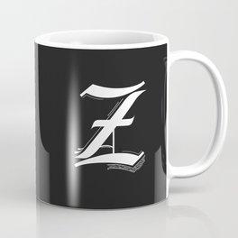 Letter Z Coffee Mug