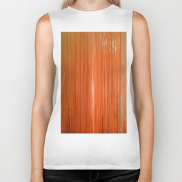 ORANGE STRINGS Biker Tank