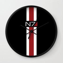 Mass Effect | Commander Shepard  Wall Clock