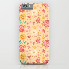 Peach Roses iPhone 6s Slim Case