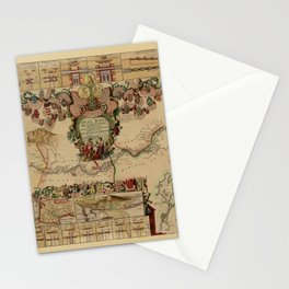 Canal Du Midi 1697 Stationery Cards