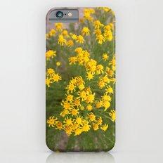 Yellow Wild Flowers iPhone 6s Slim Case