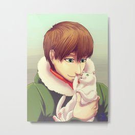 Soft kitty warm kitty Metal Print