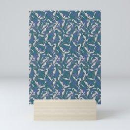 Sea Horse Repeat  Mini Art Print