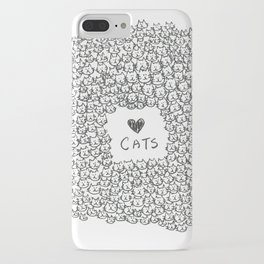I Love Cats! iPhone Case