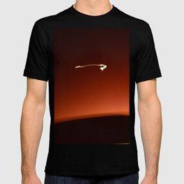 Night Lights Moon and Car T-shirt