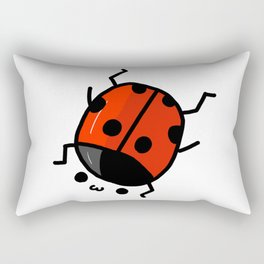 Ladybug Bby | Veronica Nagorny Rectangular Pillow