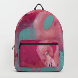 Flamingo Clouds Backpack