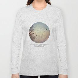 Caged Birds Long Sleeve T-shirt