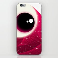 Red Dot Eye iPhone & iPod Skin