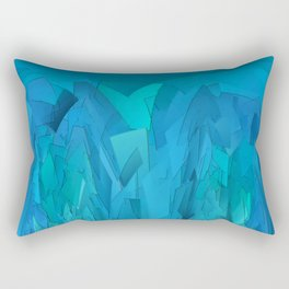 Ice cave Rectangular Pillow