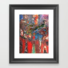 I Awoke Thinking Basquiat Framed Art Print