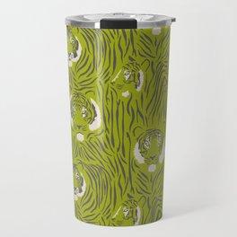 Tigers in Green Travel Mug