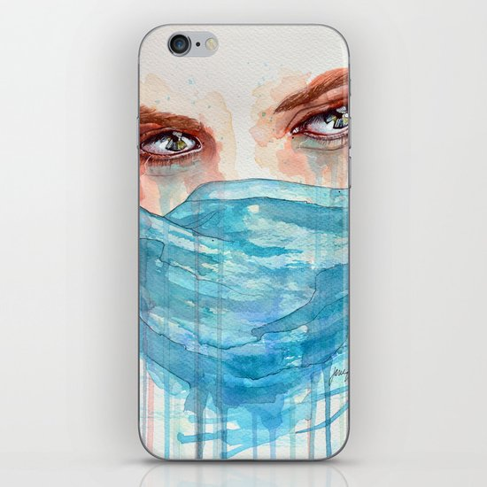 Forgotten, watercolor painting iPhone & iPod Skin
