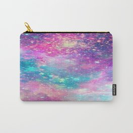 Galaxy Space Science Pattern Carry-All Pouch