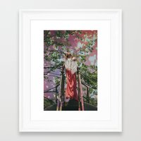 bleach Framed Art Prints featuring bleach  by Levi Walton