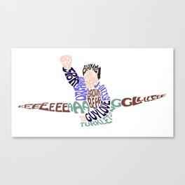 EEEAAAGGGLLLEEE Canvas Print