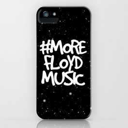 More Floyd Music Space iPhone Case