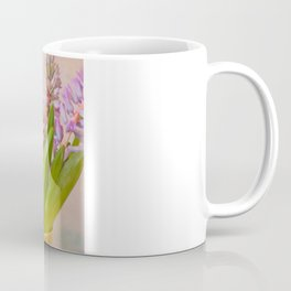 Hyacinth in Yellow Vase Coffee Mug