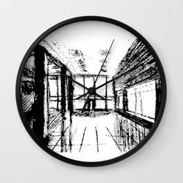 Sketch of interior of Studio Wall Clock