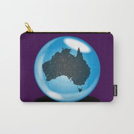 Australia Crystal Ball Carry-All Pouch
