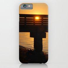 Dock at sunset iPhone 6s Slim Case