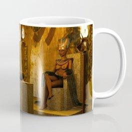 The creation of Queen Nefertiti's bust Coffee Mug