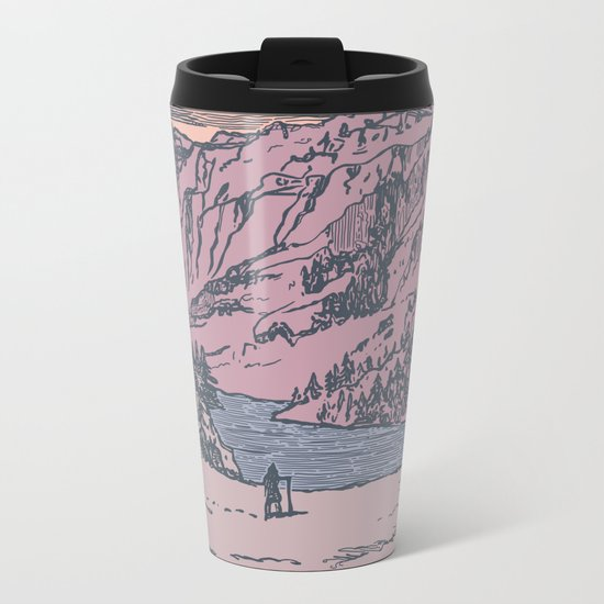 Adventure Is Calling Metal Travel Mug