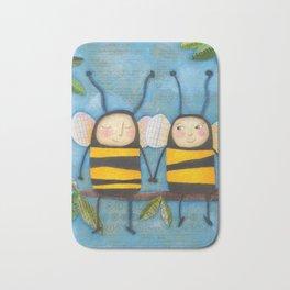 Bee Friends Bath Mat