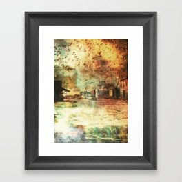 So It Goes... Framed Art Print