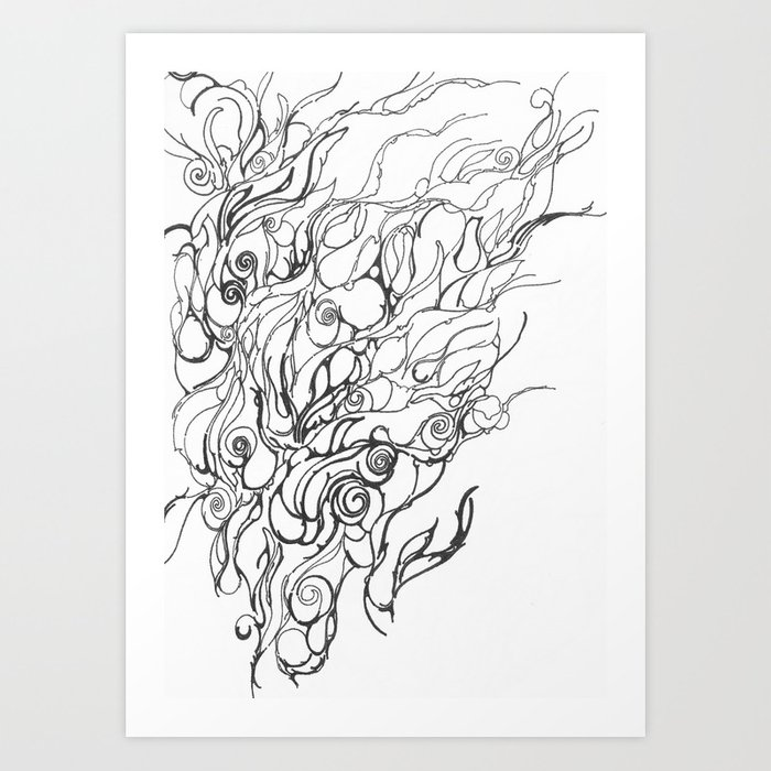 Untitled, Abstract Art Print