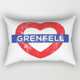 Grenfell tower Rectangular Pillow