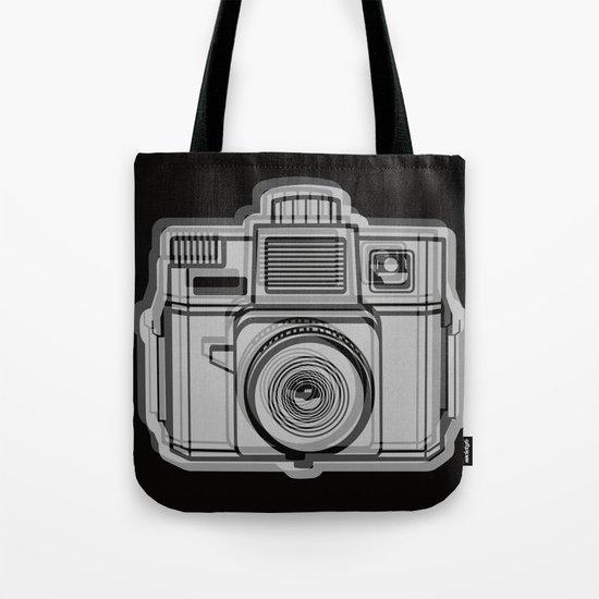 I Still Shoot Film Holga Logo - Black Tote Bag