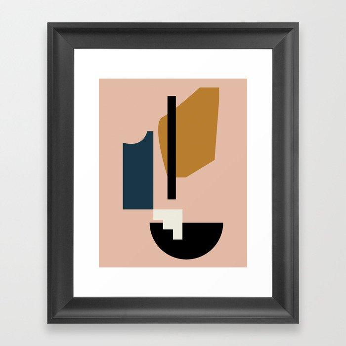 Shape study #2 - Lola Collection Gerahmter Kunstdruck