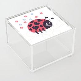 Ladybug Acrylic Box
