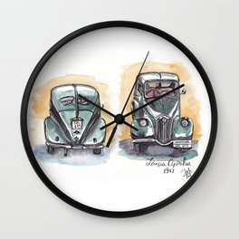 Lancia 1947/old car Wall Clock