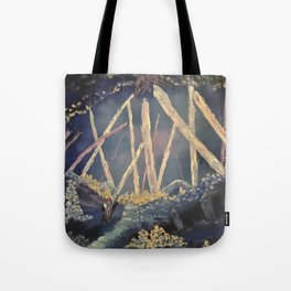 The Healing Crystal cave Tote Bag