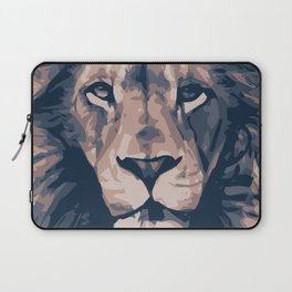Face to Lion Laptop Sleeve
