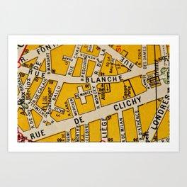 All About Paris I Art Print