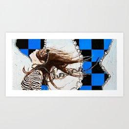 Unrestrained Art Print