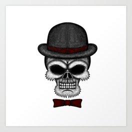 Gentleman Gangster ErrorFace Art Print
