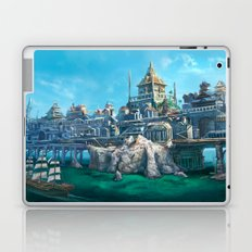 -City on the Big Bridge- Laptop & iPad Skin