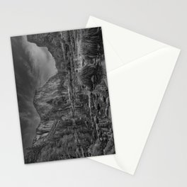 Valley View B & W 6656 - Yosemite National Park, CA Stationery Cards