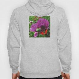 DeepDream Flowers, Poppy, DeepDream style Hoody