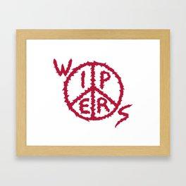 Wipers Punk Band Framed Art Print