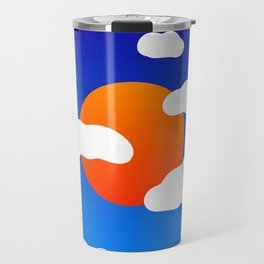 Summer Sky Travel Mug