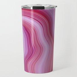 Purple Agate Travel Mug