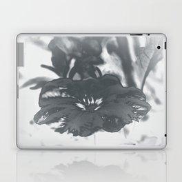 Bloom in Platinum Tone Laptop & iPad Skin