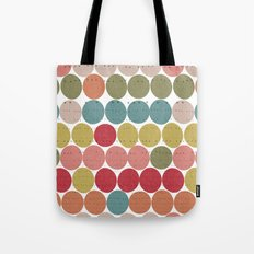 Tribal Dots Tote Bag