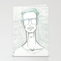 shameless Stationery Cards featuring Shameless  by Hassan Hassan